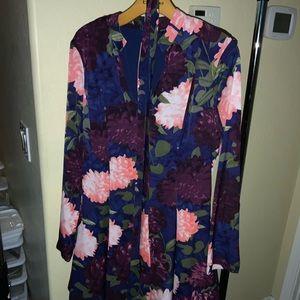 Floral business attire.